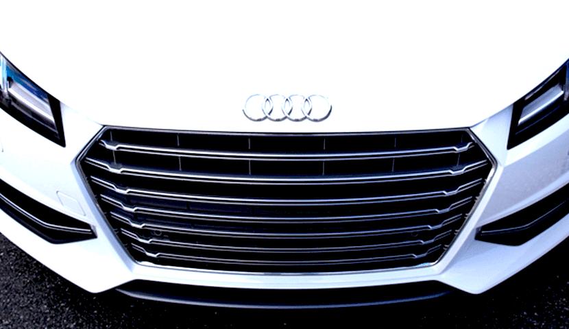 Audi TTS US グリル
