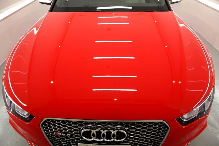 Audi RS5/8T & CERAMIC PRO 9H 4レイヤ―!!