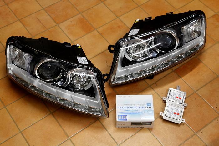 Audi A6/4F & 後期ヘッドライト変更!!