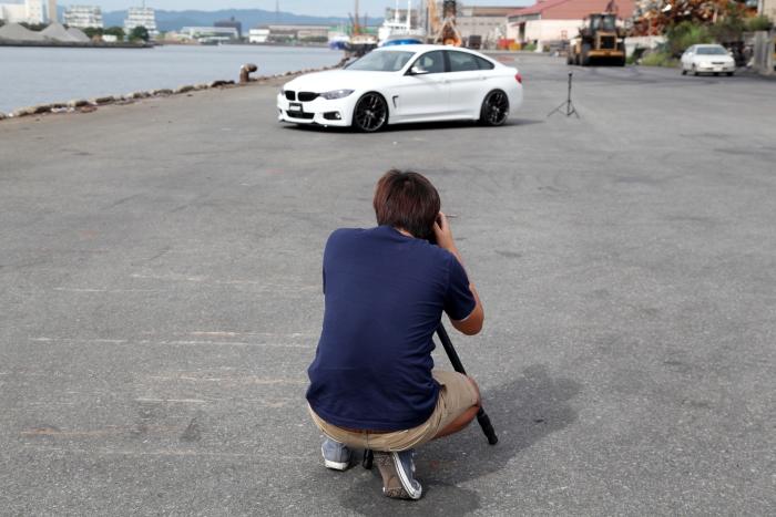 BMW F36/420i & RAYS+eS4撮影・取材!!