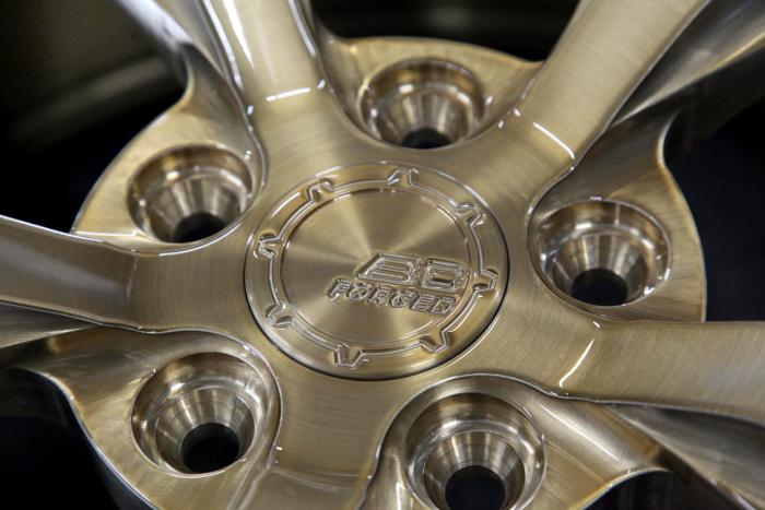 "Audi TTS/8S & BC FORGED 新作RZ21 19""+USグリル装着!!"