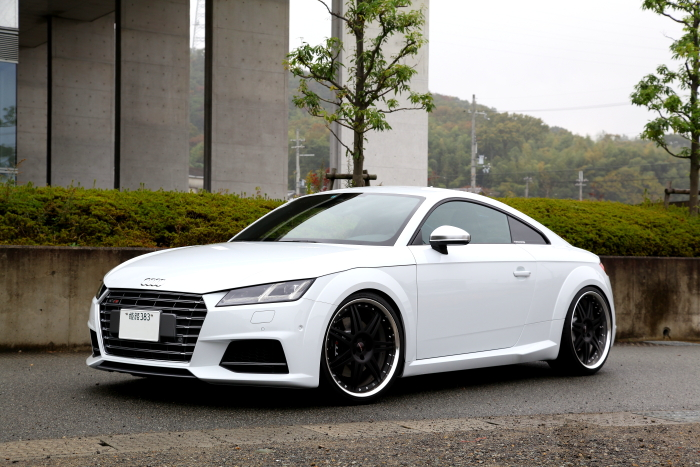 Audi TTS/8S & HYPER FORGED RIM交換FINISH替え施工!!