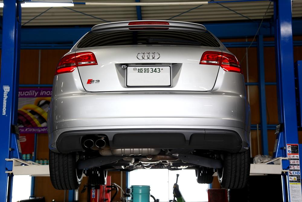Audi S3/8P & NUTEC ecoプログラム+NUTECパワーアッププログラム+コーディング変更!!