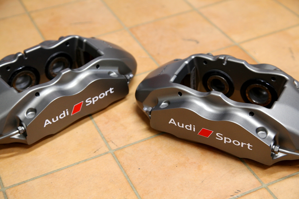 Audi TTS/8S & Brembo 4POT Rdd製380mm-KIT装着!!