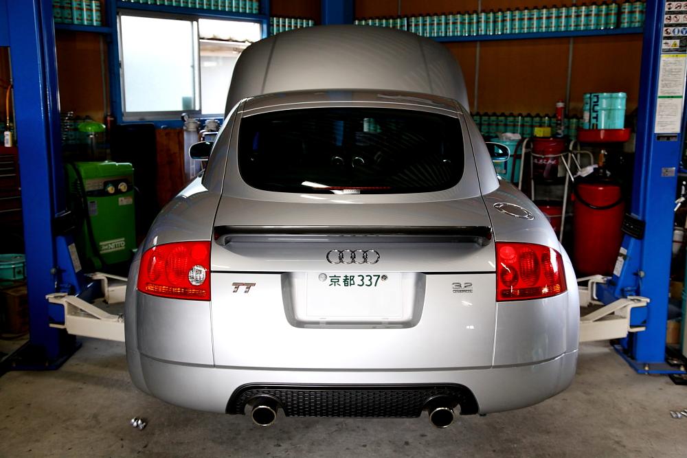 Audi TT/8N 3.2L & 車検+メンテナンス!!