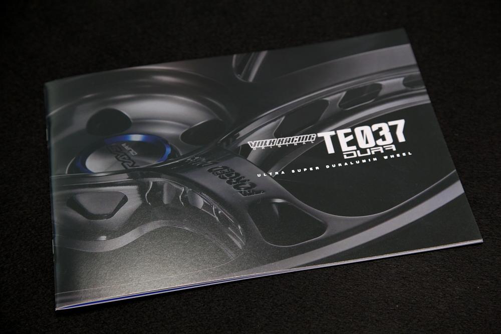 VOLK TE037 DURA新カタログ & Audi RS5掲載!!