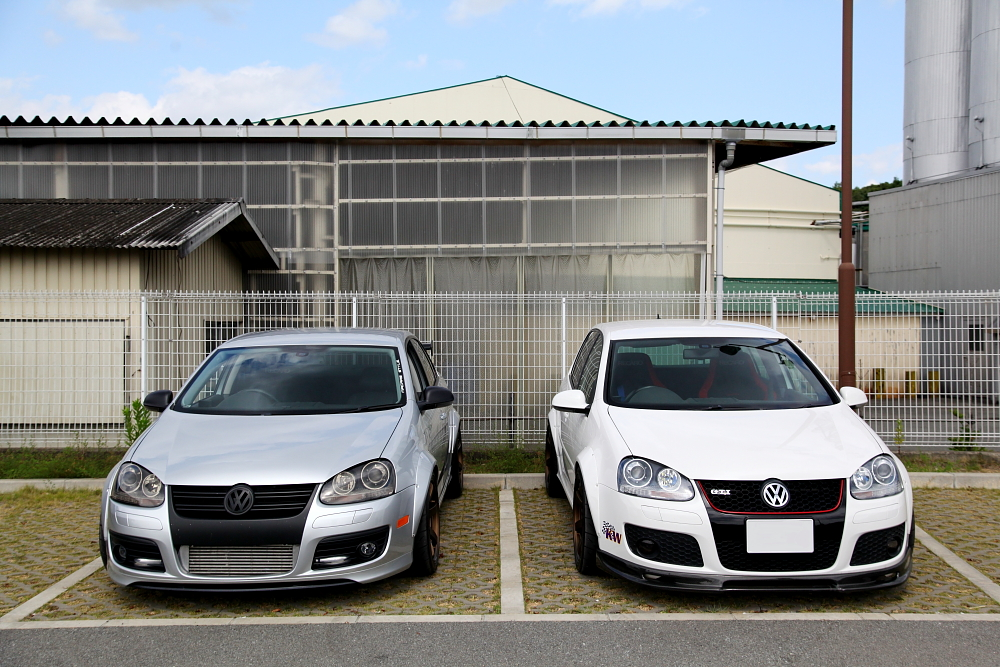 VW MK5/GTI MK5/JETTA5 & 撮影・取材+VOLK TE37 SAGA+POTENZA RE-71R+Brembo-KIT移植!!
