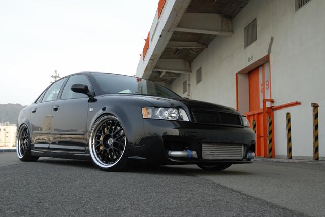 Audi A4(B6) + SSR
