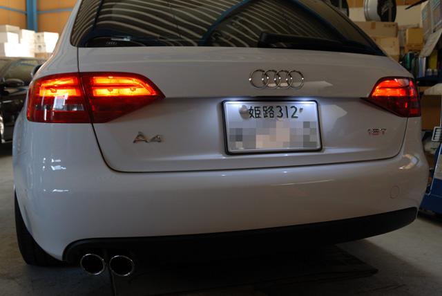 Audi A4(B8)おすすめメニュー!