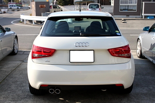 Audi A1デビュー!!