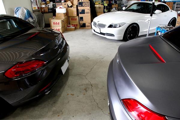 BMW E89/Z4 & PORSCHE 996GT3!!