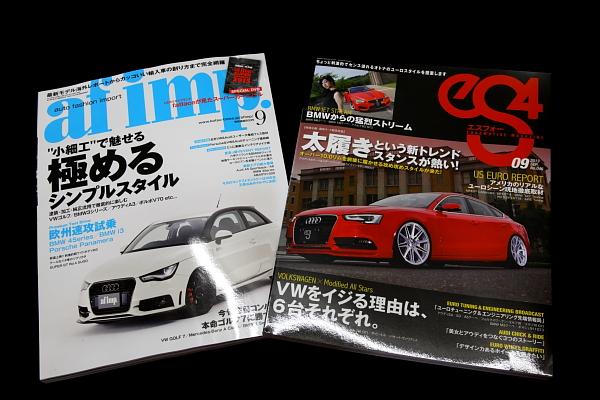 『eS4』 & 『af imp』 発売 + 『GENROQ sports』 掲載!!