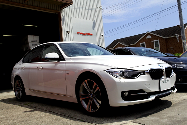BMW F30+3D Design+KW装着!!