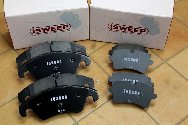 Audi A5/SB & i-sweepブレーキパッド装着!!