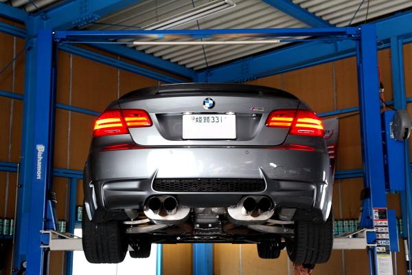 BMW E92/M3 & DCT/デフオイル交換!!