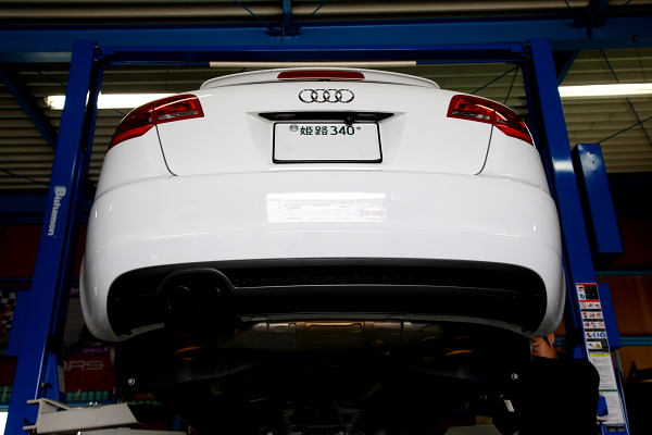 Audi A3/8P & 車検+低ダストパッド交換!!