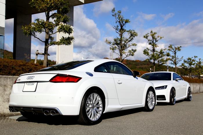 Audi TTS/8S & CERAMIC PROコーテング施工+HYPER FORGED装着!!