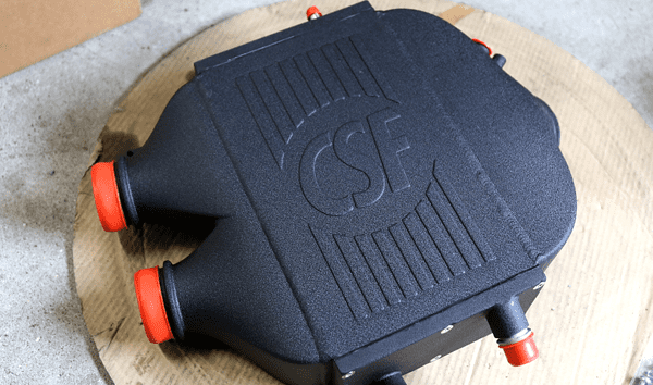 CSF TOP MOUNT DUAL PASS CHARGE AIR COOLER