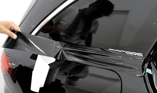 窓枠プロテクション・フィルム