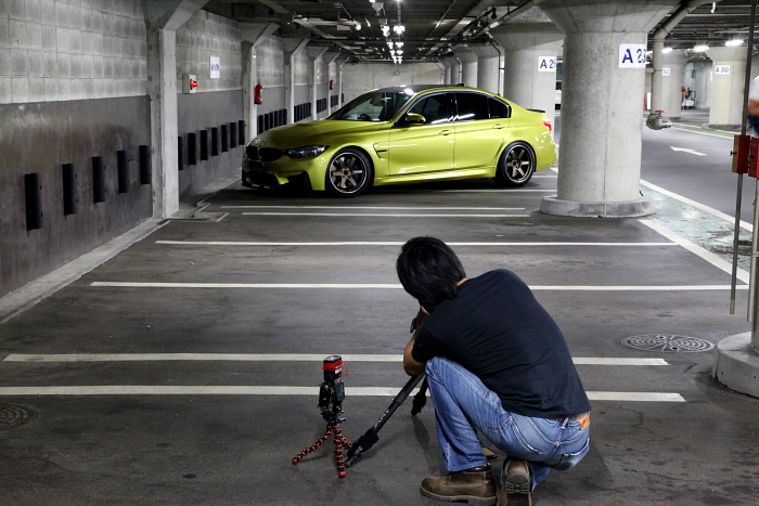 BMW F80/M3 & imp撮影・mp+取材!!