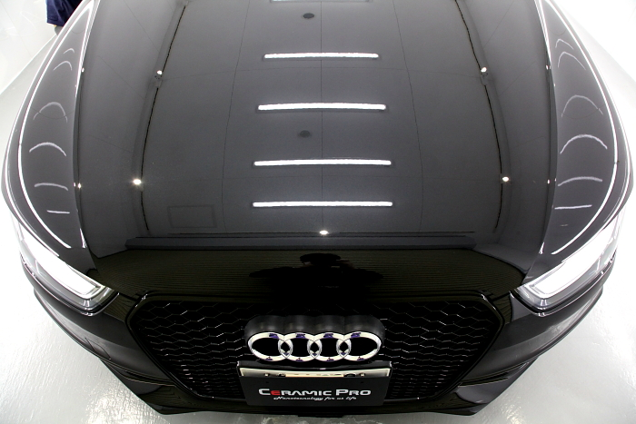 Audi A4/B8アバント & CERAMIC PRO 9H施工!!