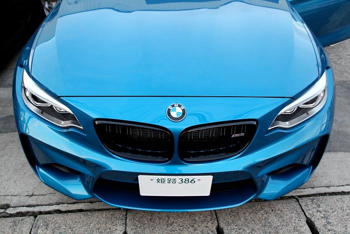 BMW F87/M2 & Mブラックグリル+NUTEC添加剤!!