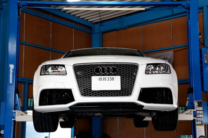 Audi RS5/8T & 車検+メンテナンス!!