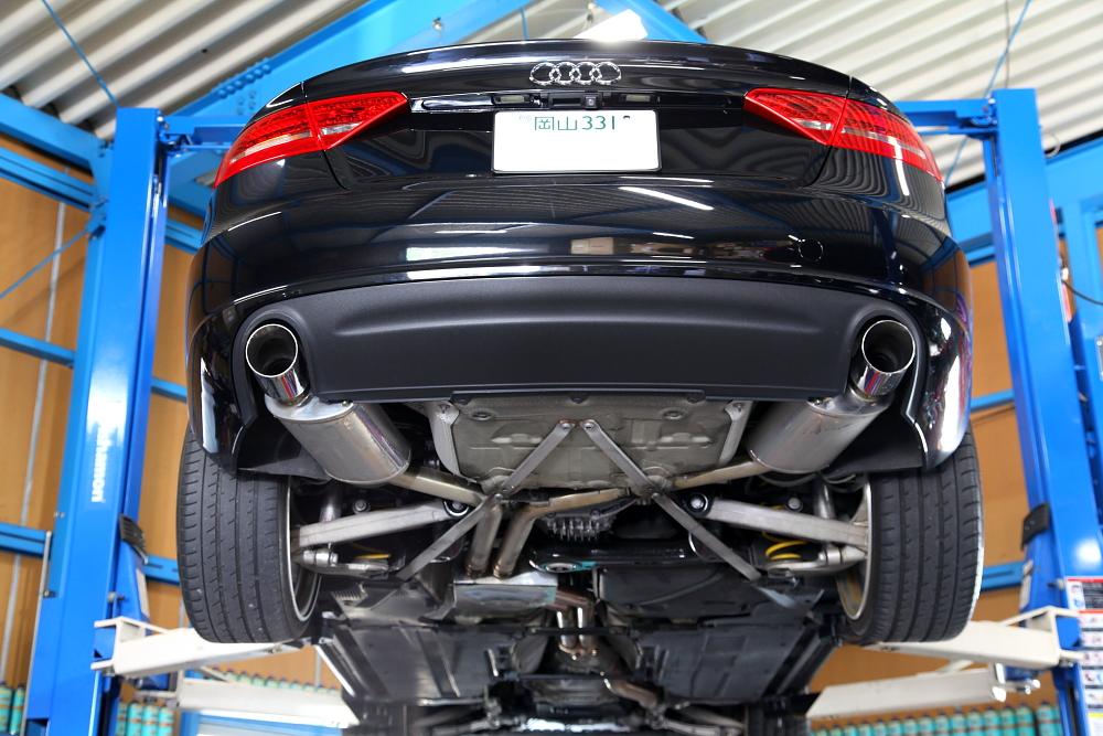 Audi A5/SB  & オートマオイル+デフオイル交換作業!!