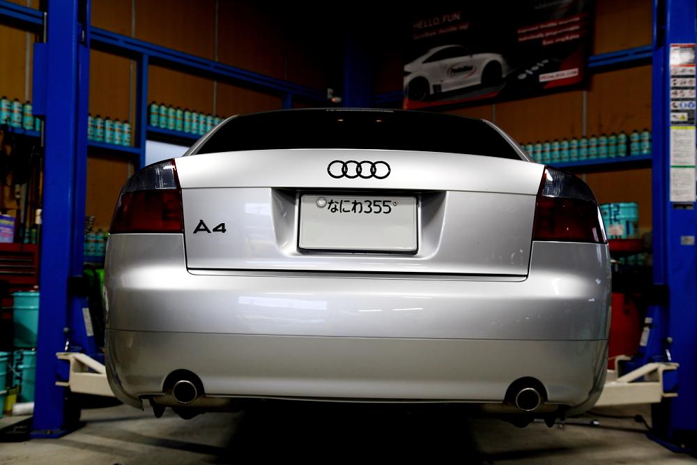 Audi A4/B6 ・B7 & 車検・メンテナンス!!
