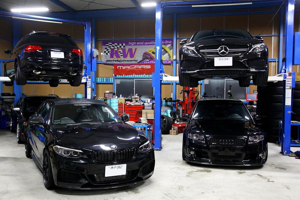 Audi A4/B7アバント & 車輌販売+アライメント調整+ペイントプロテクション・フィルム施工!!
