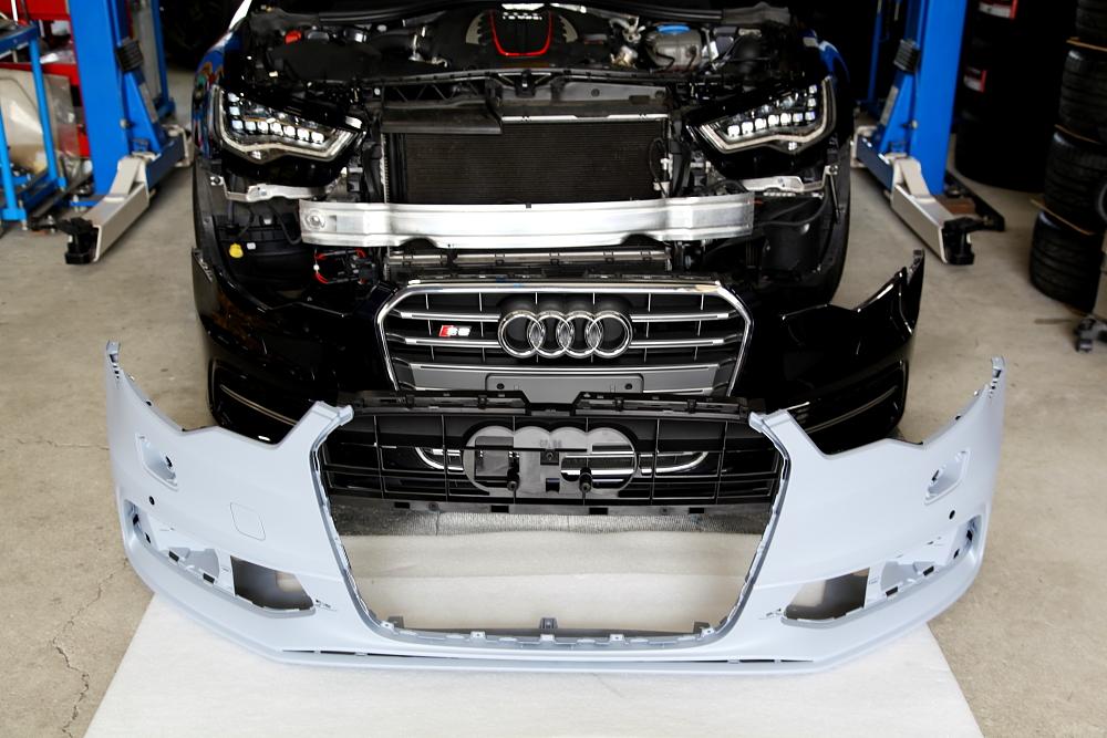 Audi S6/4G Avant & 事故修理+cpm装着!!