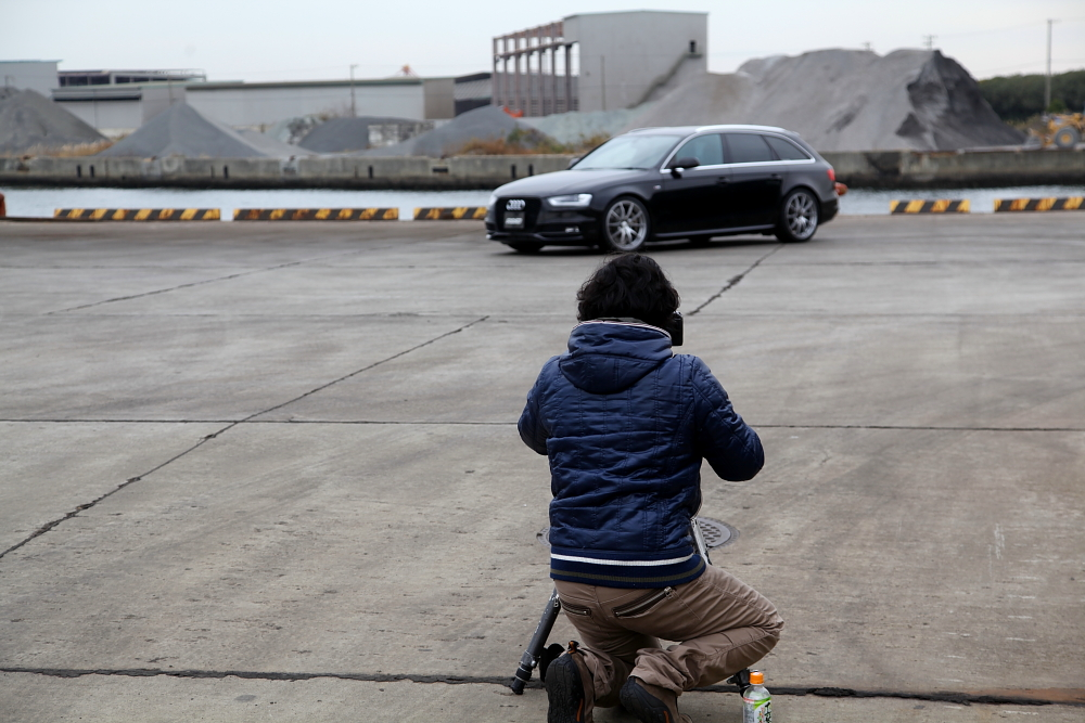 Audi A4/B8.5アバント & VOLKホイール装着・撮影+ホイールメンテナンス施工!!