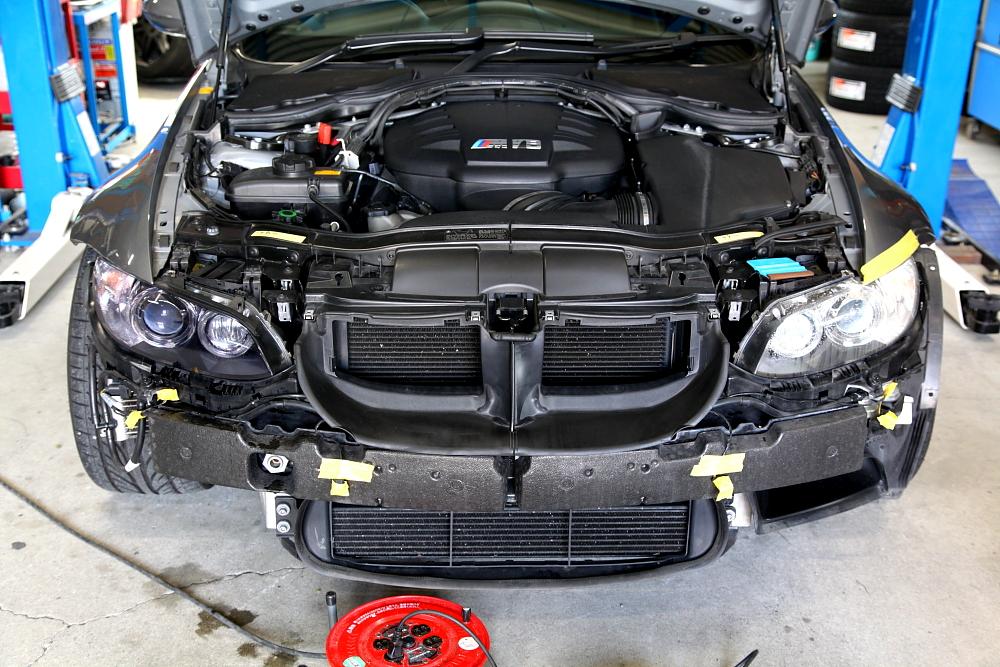 BMW E92/M3 & 事故修理+ペイントプロテクション・フィルム施工+BELLOF REVERSE LED!!