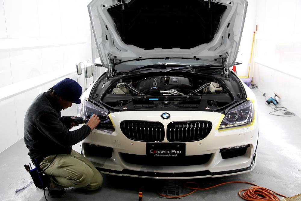 BMW F06/640iグランクーペ & 天井ペイント+リアスポイラーペイント!!