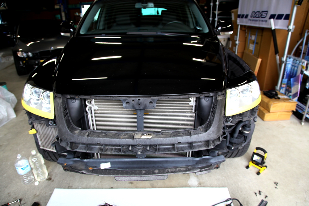 VW TOUAREG/W12 & 鈑金修理+BELLOF HID+プロテクションフィルム施工!!