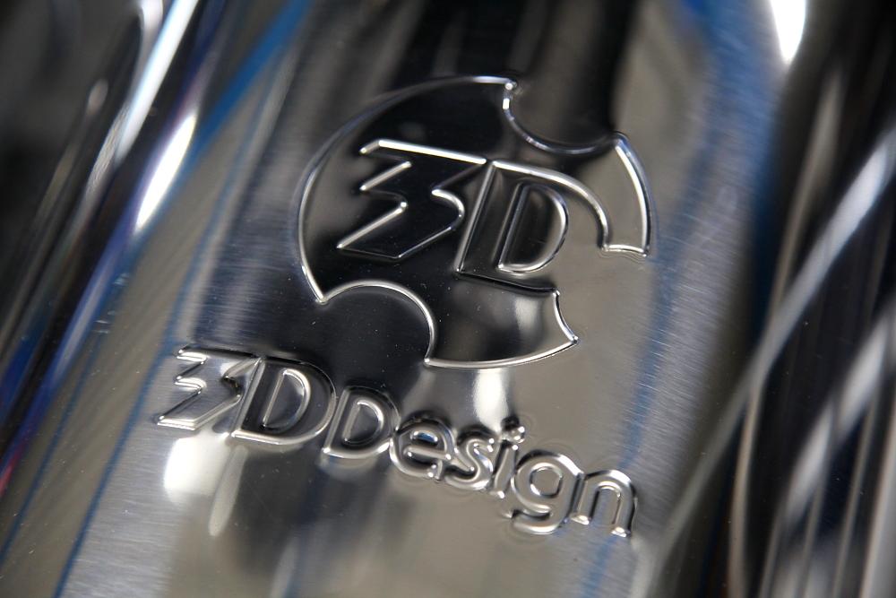 BMW F10/M5 & 3D Design マフラー装着!!