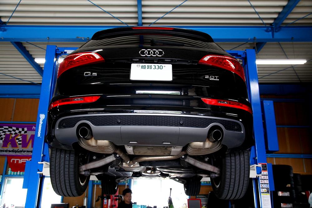 Audi Q5/2.0T & エンジンオイル+afeエアコリーナー交換!!