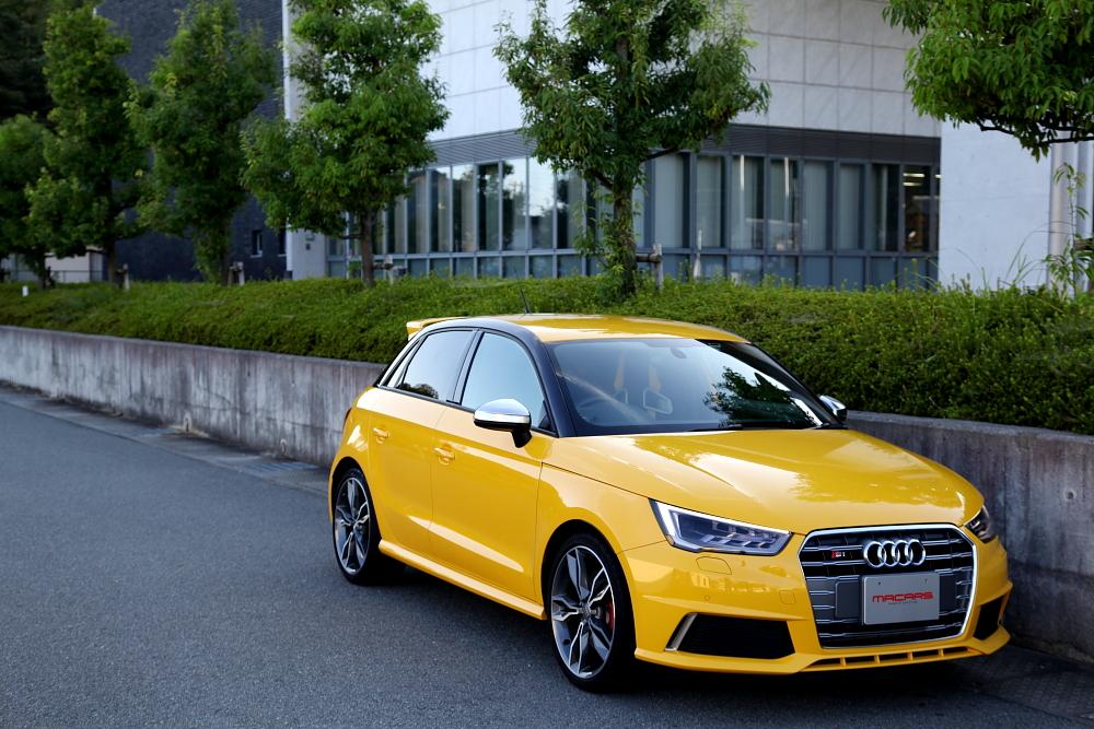 Audi S1/8X Sportback & S1 quattro limited edition 専用リアウイング+NUTECオイル交換+GYEON洗車施工!! | MACARS (メイ ...
