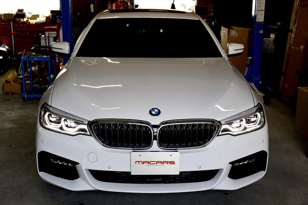 BMW G30/523d M-sport + 3D Design & GENROQ撮影・取材!!