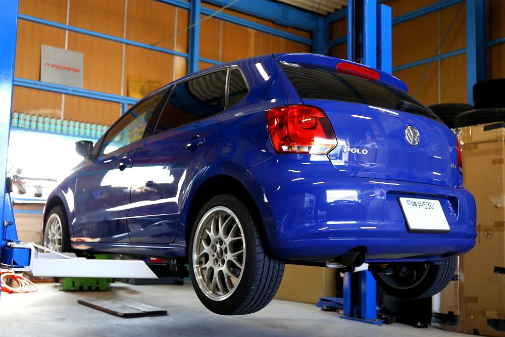 VW POLO/6R & 車検・メンテナンス施工!!
