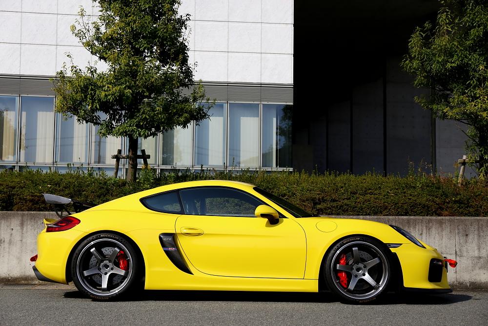 PorscheケイマンGT4 & ボディコーティング・メンテナンス施工!!