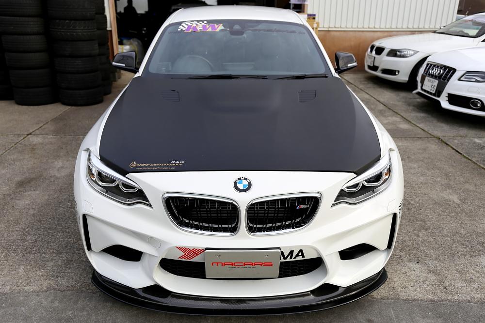 BMW F87/M2デモカー来店 & Audi A5/SB & MICHELIN PILOTSPORT4!!