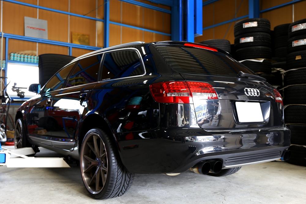 Audi A6/4F Avant & 車検+メンテナンス!!