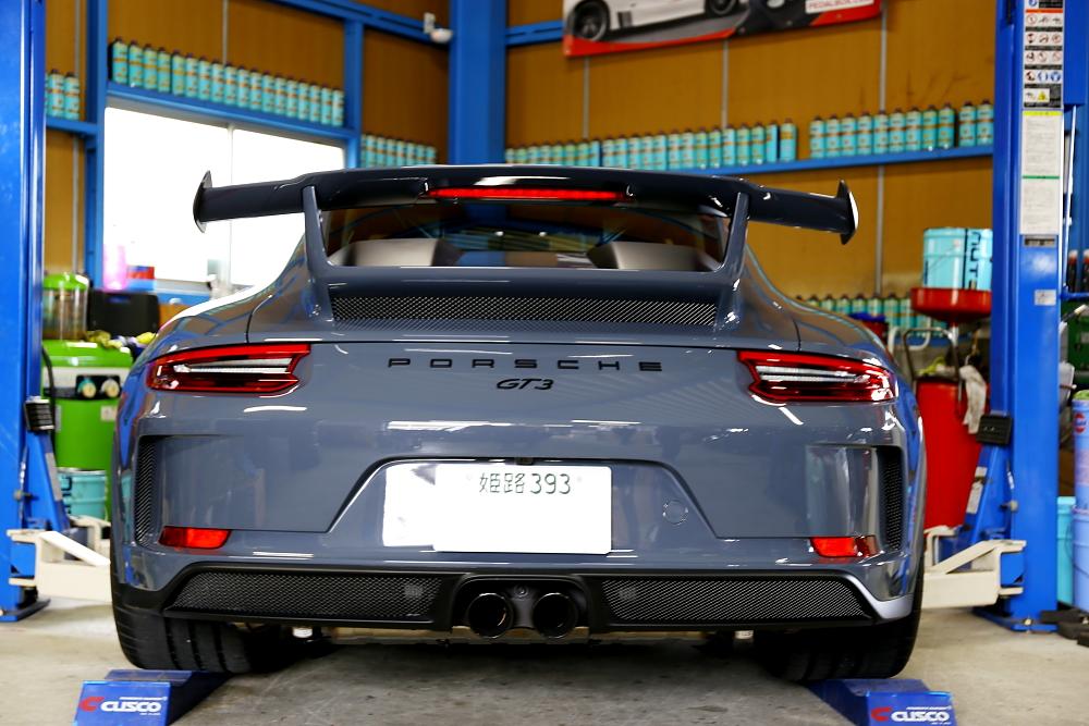 Porsche 991.2/GT3 & ブレーキ計測+Bremboキャリパー・ホイールコーティング施工!!