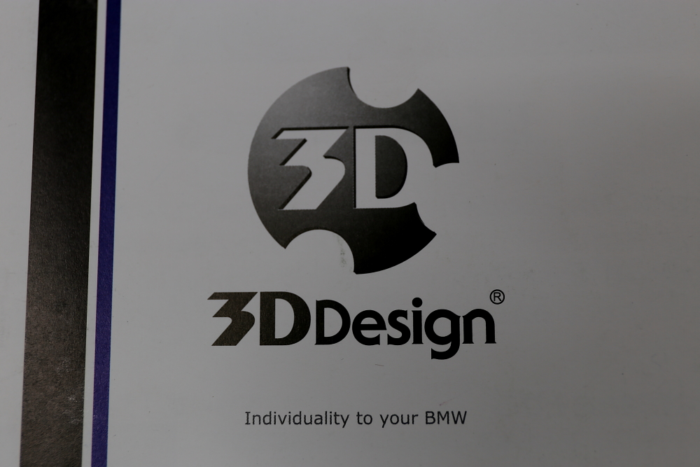 BMW E92/M3 & 3D デザイン カーボンフロントリップスポイラー!!