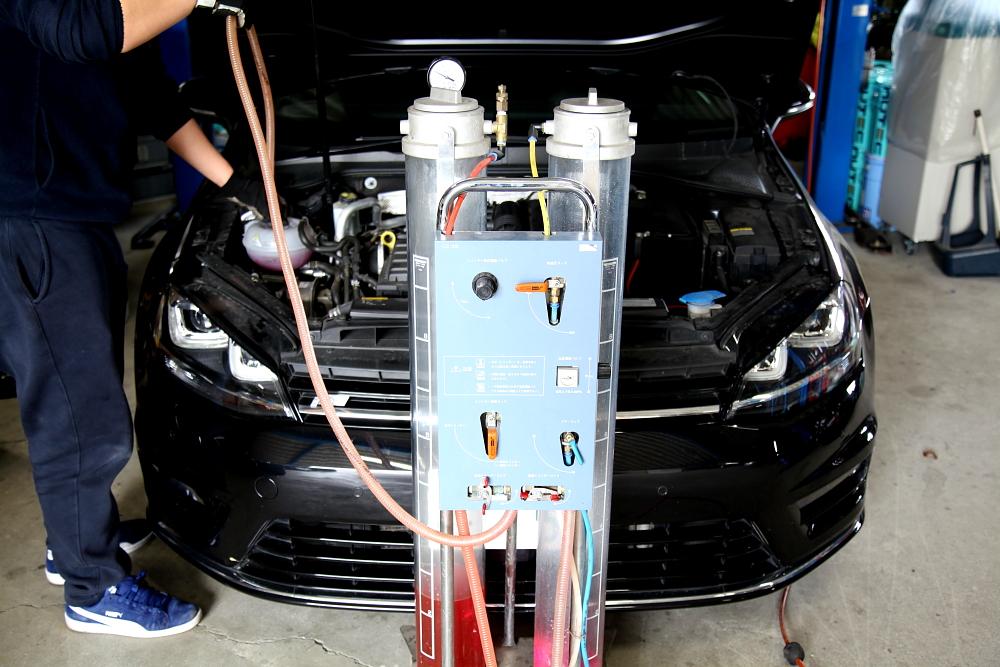 VW GOLF7 VARIANT & 車検・メンテナンス・ワイドスペーサー!!