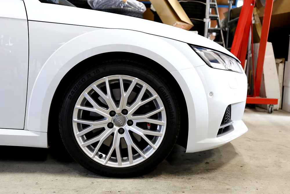Audi TTS/8S COUPE & H&Rダウンサス+HYPER FORGED HF-C10 20″装着!!