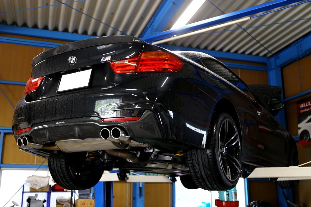 BMW F32/420I & ATF/デフオイル交換!!