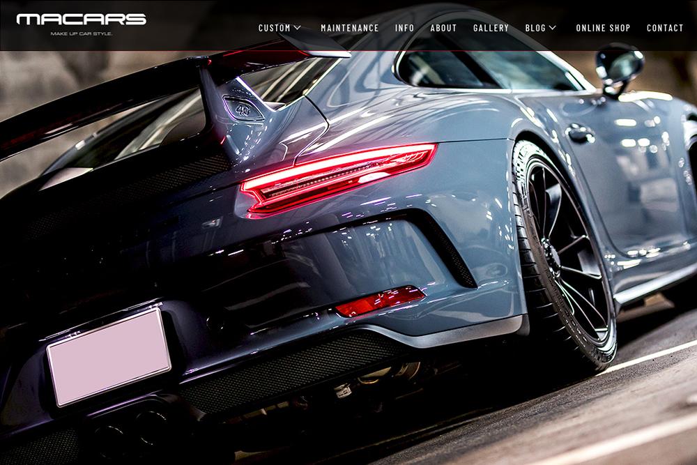 ホームページ画像変更 & Porsche Macan!!