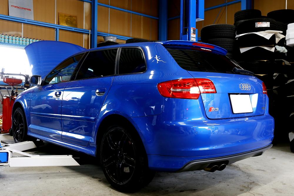 Audi S3/8P & DSGオイル交換+エアクリ交換+HID交換+メンテナンス施工!!